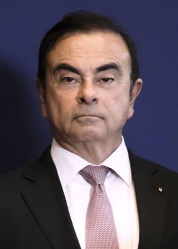 日産自動車のカルロス・ゴーン会長(ゲッティ=共同)