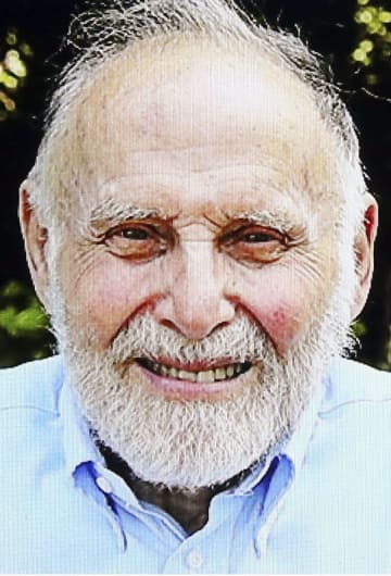 ノーベル物理学賞の受賞が決まった米国のアーサー・アシュキン氏(新華社=共同)