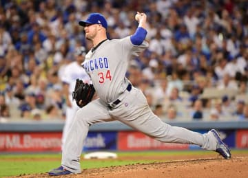 Jon Lester Leads Cubs to 8-4, NLCS Game 5 Win vs Dodgers