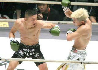 堀口(左)と那須川(右)の再戦を、大みそかにトーナメントの中で見たいかどうか