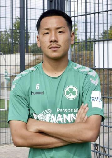 Football: Ideguchi of Greuther Fuerth