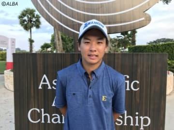 アメリカ在住の呉司聡 好奇心旺盛な20歳の活躍に期待だ(撮影:ALBA)