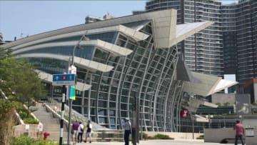 香港西九竜駅、観光客が訪れる新たなランドマークに