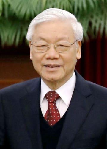 ベトナムのグエン・フー・チョン共産党書記長