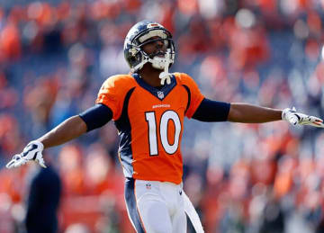 WR Emmanuel Sanders Signs 3-Year Extension with Broncos