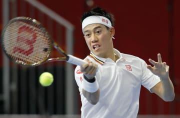 Tennis: Nishikori at Rakuten Open