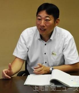 被災地での活動を語る吉沢警部補