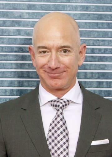 米アマゾン・コムのジェフ・ベゾスCEO(ゲッティ=共同)