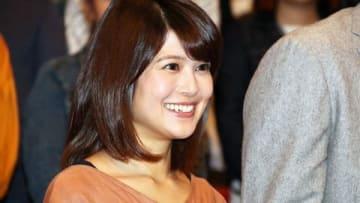 連続ドラマ「結婚相手は抽選で」の制作発表会見に登場した佐津川愛美さん