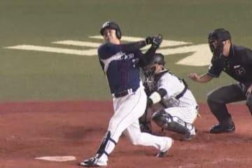 3打点を記録した西武・浅村【画像提供:(C)PLM】