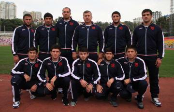 世界選手権へ挑むロシアの男子フリースタイル代表チーム=ロシア協会ホームページより