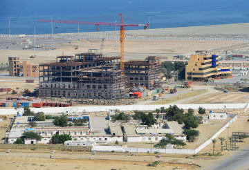 China-led development of Gwadar port in Pakistan