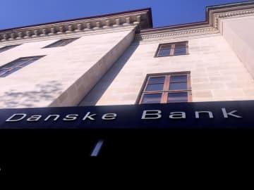 コペンハーゲンにあるダンスケ銀行のビル=9月(ロイター=共同)