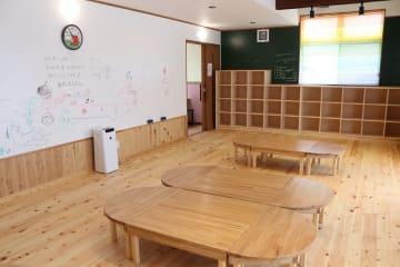 放課後学童クラブのイメージで生活困窮世帯の児童を中心に受け入れる「第三の居場所」=大村市内