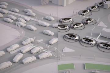 アウディの研究:渋滞のない未来の都市を目指して