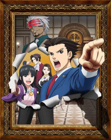 テレビアニメ「逆転裁判~その『真実』、異議あり!~ Season 2」のビジュアル(C)CAPCOM/読売テレビ・CloverWorks