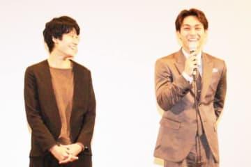 映画『夜明け』のQ&Aイベントに登壇した広瀬奈々子監督と柳楽優弥
