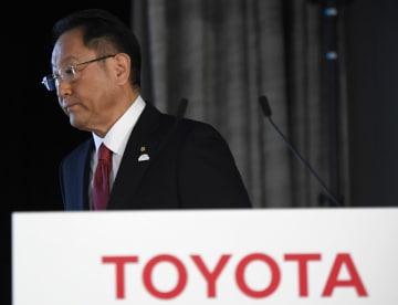 Toyota Motor President Toyoda