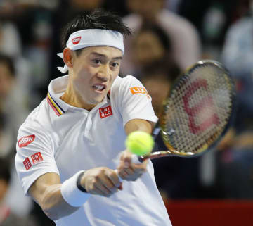 Nishikori at Japan Open