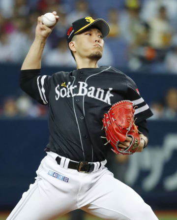Kodai Senga of the SoftBank Hawks