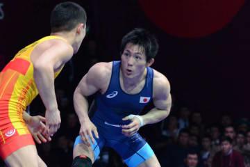男子グレコローマン55kg級で第3シードとなった田野倉翔太(東京・自由ヶ丘学園高教)
