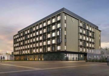 三菱地所グループが開発するホテルの完成イメージ図