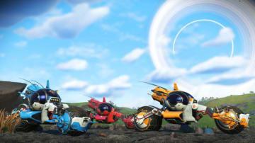 『No Man's Sky』新アップデートで2輪車が追加!―召喚可能な新設置物含むエクソクラフト関連の大幅改良も