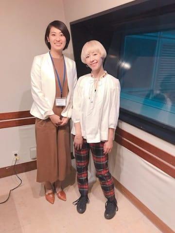 花谷遥さん(左)、木村カエラ