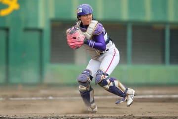 京都フローラ・村松珠希【写真提供:日本女子プロ野球リーグ】