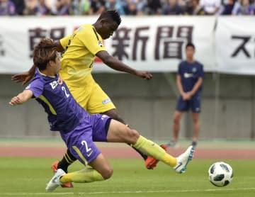 Soccer: Kashiwa's Olunga