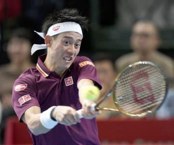 Nishikori at Japan Open