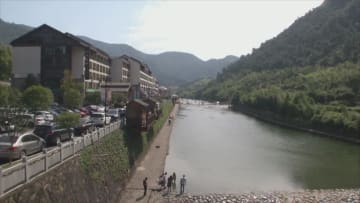 小さな山村に民泊経営ブーム到来 浙江省蘆茨村