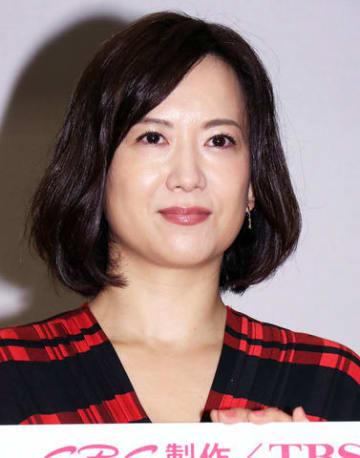 スペシャルドラマ「それでも恋する」の会見に登場した和久井映見さん