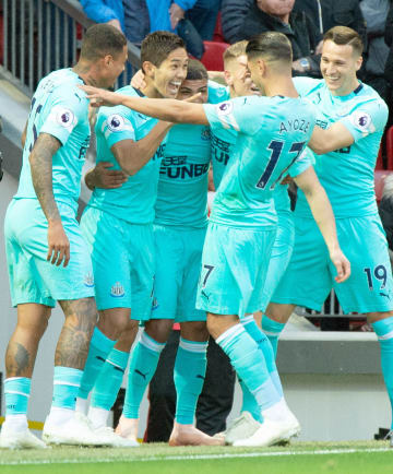 Football: Newcastle's Muto