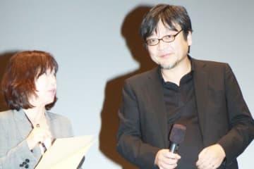 第23回釜山国際映画祭の『未来のミライ』Q&Aに登壇した細田守監督