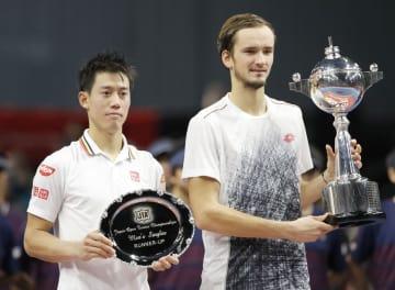 Tennis: Nishikori at Rakuten Japan Open