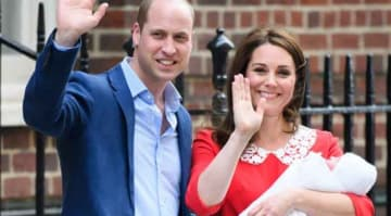 Kate Middleton & Prince William Debut New Son Just After Seven Hours After Birth