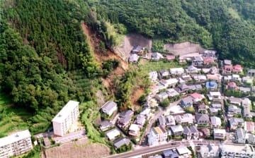 【平成の長崎】山崩れ7棟全半壊 長崎市北陽町 住民は避難し無事