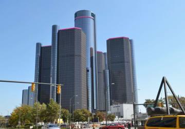 ゼネラル・モーターズ本社=2012年、米デトロイト