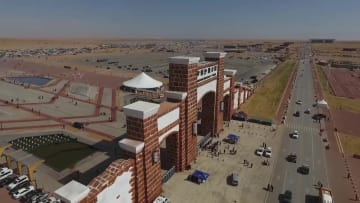 オフロードの祭典 砂漠のカーニバルを満喫 内モンゴル自治区