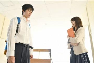 連続ドラマ「中学聖日記」第1話の一場面=TBS提供