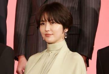 映画「キングダム」の製作報告会見に登場した長澤まさみさん