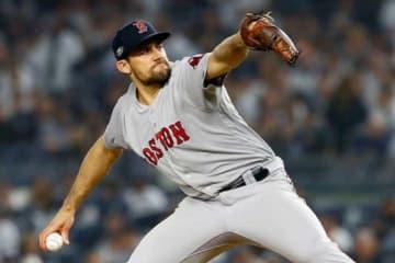 ヤンキース相手に快投したRソックスのネイサン・イオバルディ【写真:Getty Images】