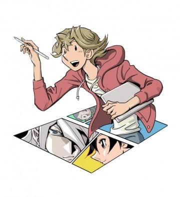 高橋和希の新作「THE COMIQ」予告カット - (C)高橋和希 スタジオ・ダイス/集英社