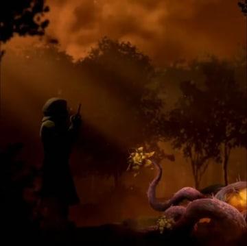 『Dead by Daylight』「The Hallowed Blight」新たな意味深ティーザー公開―不気味な植物の傍らに立つ影は一体…