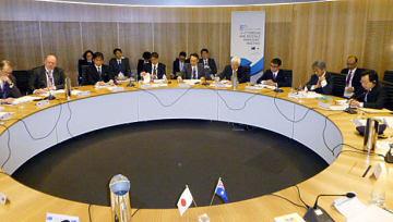 シドニーで開かれた日豪外務・防衛閣僚協議=10日(共同)