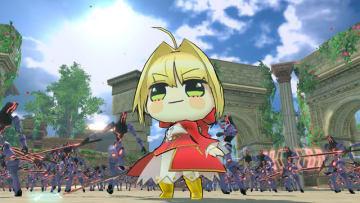 スイッチ版『Fate/EXTELLA LINK』が1月31日に発売決定!ネロたちが着ぐるみのような姿になる新衣装「ふにふに」も登場