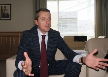 Lithuanian Energy Minister Zygimantas Vaiciunas
