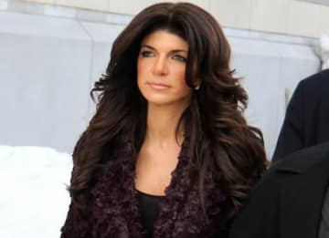 'Real Housewives of New Jersey' stars Teresa and Joe Giudice outside Federal court in Newark where they have plead guilty to multiple fraud charges. Prosecutors allege the two used fake documents to inflate their incomes and obtain millions of...