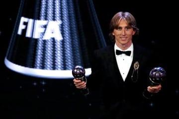 FIFA最優秀選手に選ばれたのはモドリッチ photo/Getty Images